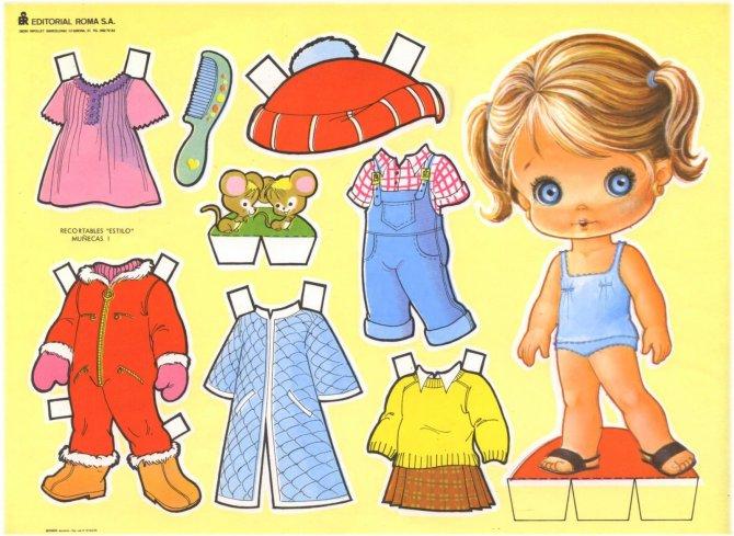 bonecas de papel 20 300x219 - Brincando com bonecas de papel