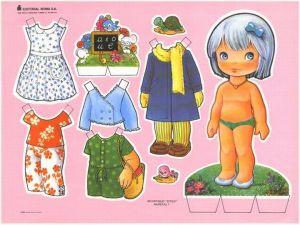 bonecas de papel 3 300x225 - Brincando com bonecas de papel