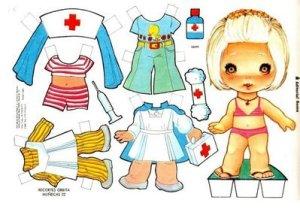 bonecas de papel 6 300x209 - Brincando com bonecas de papel