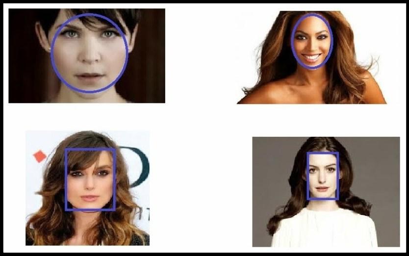 formatos de rostos - CORTES PARA OS FIOS DE ACORDO COM O TIPO E O FORMATO DO ROSTO