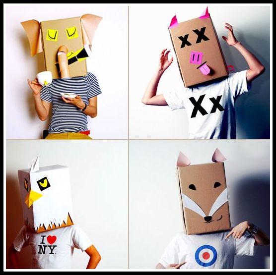 caretas-e-mascaras-de-papelão