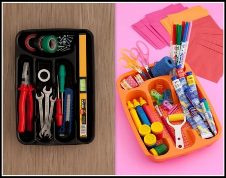 organizar objetos em porta colheres 1024x805 - DICAS PARA MANTER SUA CASA ORGANIZADA