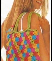 Bolsa Colorida croche foto e1455059614520 - PASSO A PASSO DE UMA LINDA BOLSA DE CROCHÊ COLORIDA