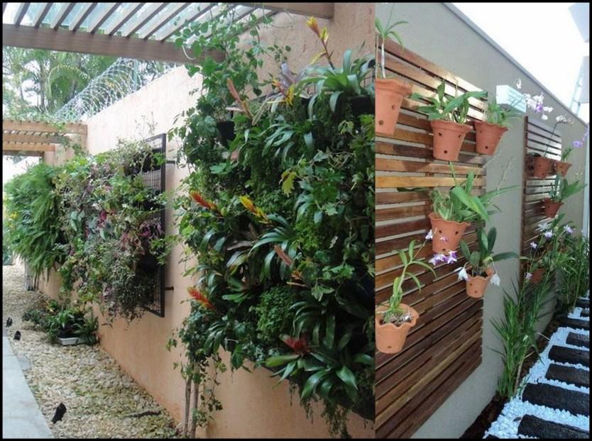 jardim vestical no corredor - FAÇA SEU JARDIM EM QUALQUER CANTO