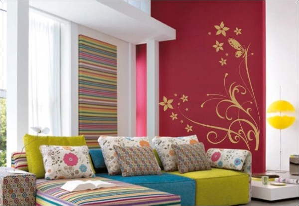 decorar-a-casa-com-adesivos-de-parede