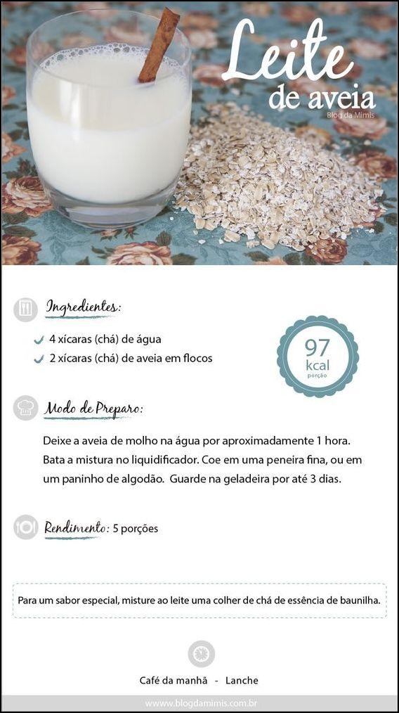 leite de aveia - COMO FAZER LEITE DE AVEIA, ARROZ E AMÊNDOAS