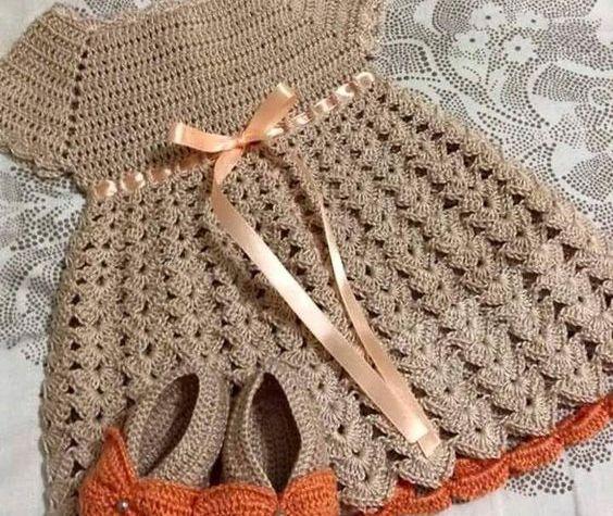 roupa infantil de crochê - VÁRIOS MODELOS INFANTIS DE CROCHÊ COM GRÁFICOS