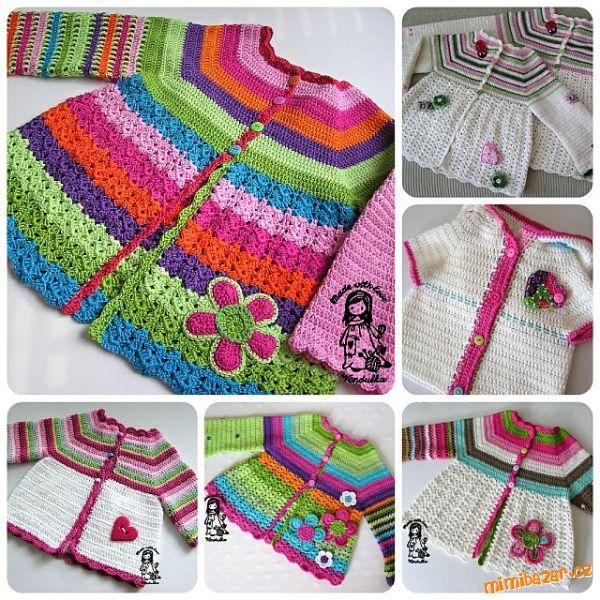 vestidos infantis - VÁRIOS MODELOS DE VESTIDOS INFANTIS DE CROCHÊ