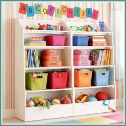 ideias para organizar as coisas no quarto das crianças 21 - IDEIAS PARA DECORAR E ORGANIZAR O QUARTO DAS CRIANÇAS