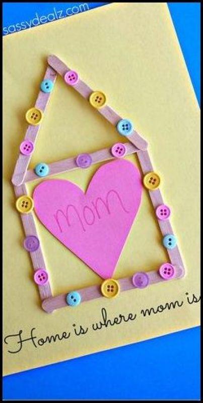 cartão dia das mães.fácil de fazer.1 - FAÇA VOCÊ MESMA LEMBRANÇAS E CARTÕES PARA O DIA DAS MÃES