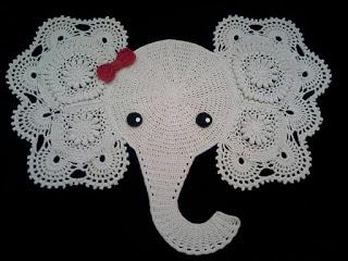 elefante1 - TAPETE DE CROCHÊ DE ELEFANTE COM GRÁFICO E RECEITA