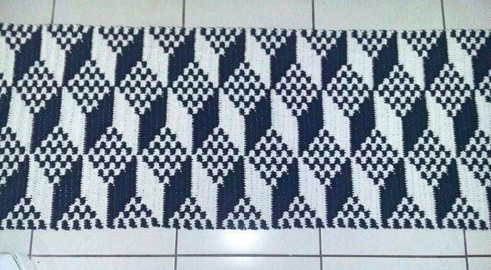 Preferência tapete-passadeira-croche-3d-passadeira Luanna Pimentel YQ26