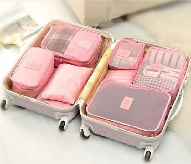 arrumar mala de viagem compartimentos por categoria - COMO ARRUMAR A MALA DE VIAGEM