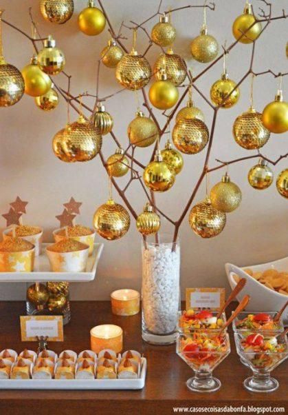 Ano no mesa e1608138207740 - Decoração para Natal e Ano Novo: baratas e fáceis