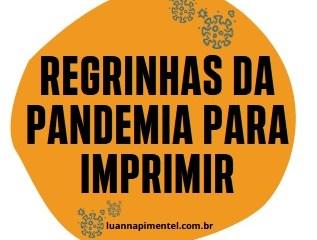 Capa destacada 5 - REGRAS DA PANDEMIA PARA AS CRIANÇAS PARA IMPRIMIR