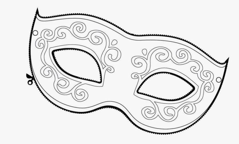 mascara 4 1024x617 - CARNAVAL EDUCAÇÃO INFANTIL E FUNDAMENTAL: ATIVIDADES, CAPAS, MOLDES