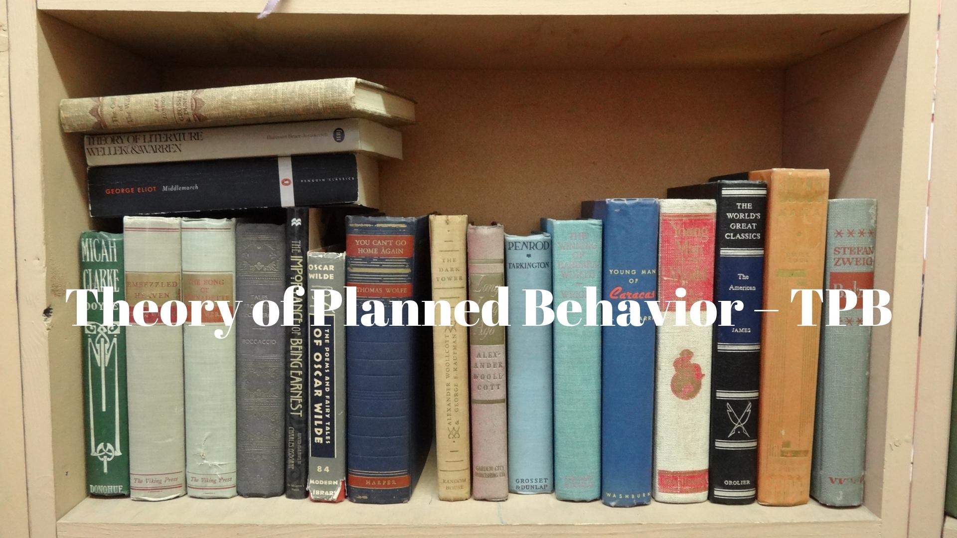 lý thuyết hành vi được hoạch định TPB