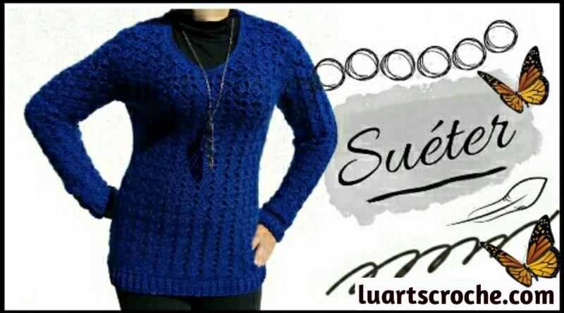 Como fazer suéter crochê