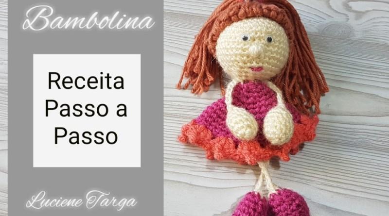 Bambola Bambolina Boneca de crochê