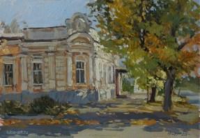 """Осень в Таганроге"" холст, масло 35х50 2015г."