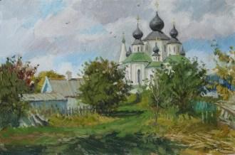 """""""Теплый сентябрь""""холст, масло 40х60см. 2016г."""