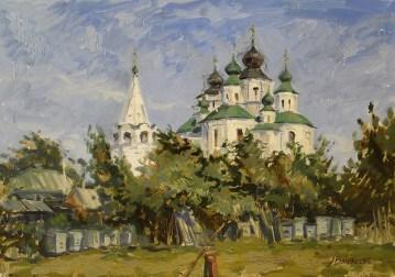 """""""Старочеркасск"""" холст, масло 35х50 2013г."""