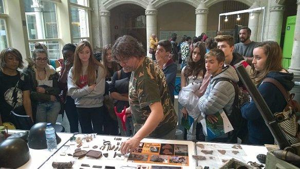 Con novedad en el frente: Arqueología de la guerra civil y cultura científica, Zientzia Astea 2015, Vitoria-Gasteiz - 02