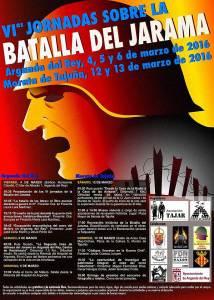 """Cartel y programa de la """"Batalla del Jarama"""" 2016"""