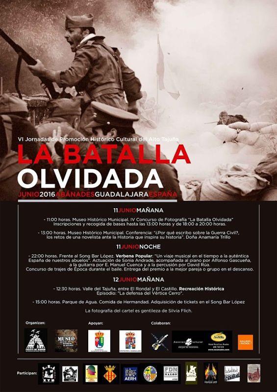"""Cartel y programa de """"La Batalla Olvidada"""" 2016"""
