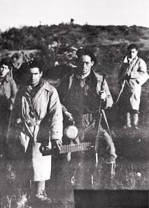 Mateo Balbuena y milicianos del Leandro Carro