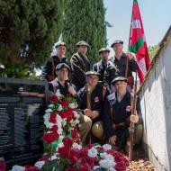 Homenaje a gudaris guipuzcoanos enterrados en Gernika 17-06-2017 - 05