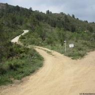 Posiciones defensivas de Las Tetas en la Serra d'Espadà - Itinerario 2