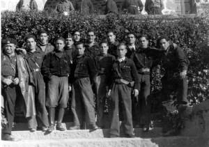 Oficialidad del Batallón Bakunin CNT nº1
