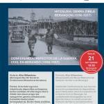 Hitzaldia: Gerra Zibila Berangon (1936-1937) / </br>Conferencia: Aspectos de la Guerra Civil en Berango (1936-1937)