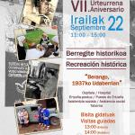 Berangoko Burdin Hesiaren Oroimenaren Museoa VII. Urteurrena / Museo Memorial del Cinturón de Hierro de Berango VII Aniversario