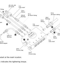 oa i air oil sensor piping layout diagram  [ 1300 x 978 Pixel ]