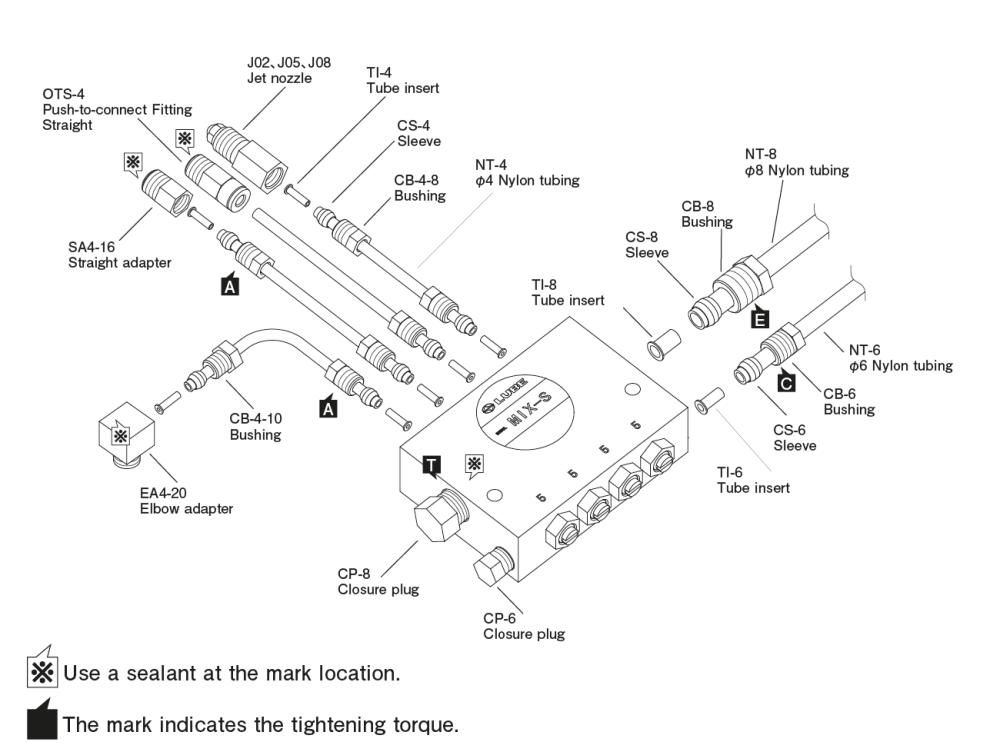 medium resolution of oa i air oil sensor piping layout diagram