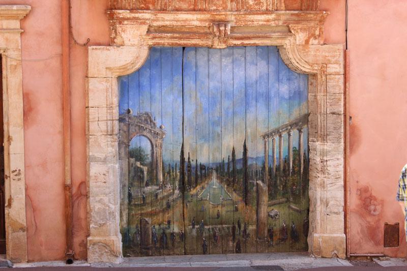 Porte roussillon