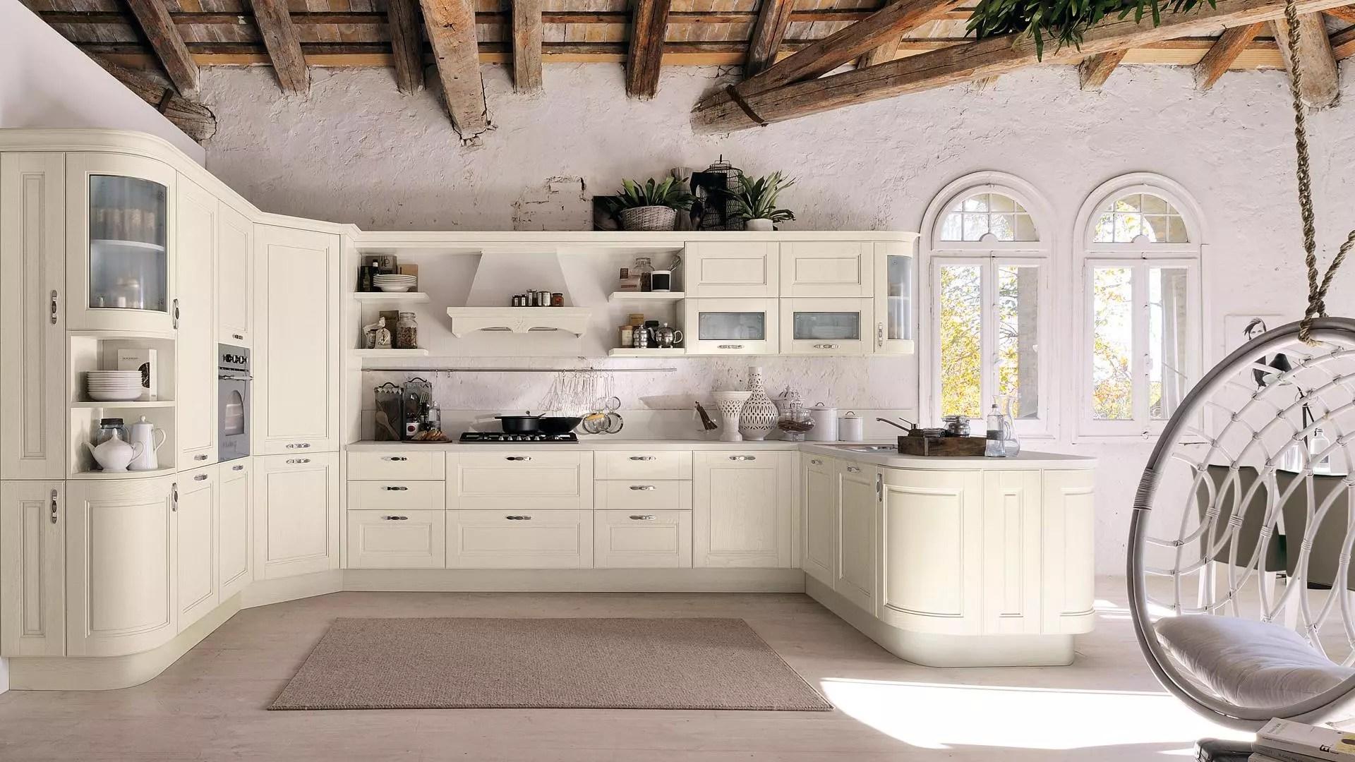 Cucine in stile provenzale le idee country chic per chi ama il classico  Lube Store Milano