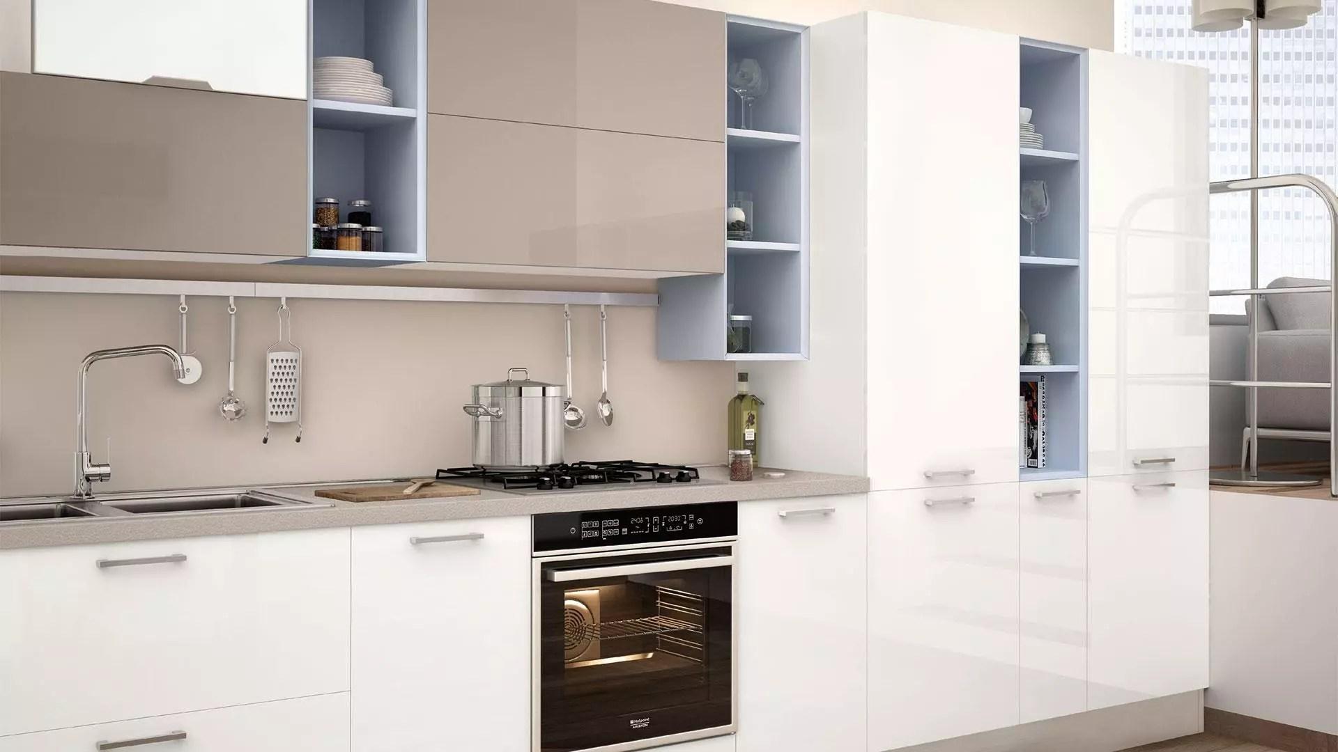 Paraschizzi per la cucina materiale e consigli per la scelta  Lube Store Milano  Le Cucine