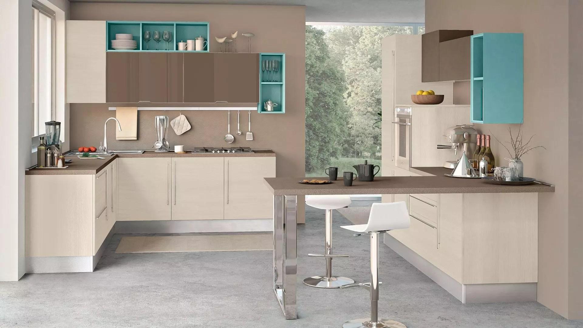 Con delle pareti bianche è anche più facile scegliere i quadri giusti. Come Scegliere Il Colore Delle Pareti Per La Cucina I Consigli Per Ogni Modello Cucine Lube Milano