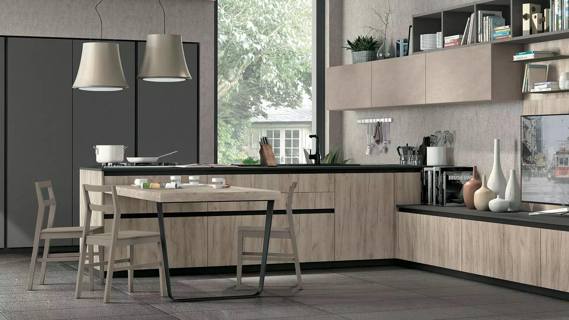 Le nuove cucine moderne  Lube Store Milano  Le Cucine