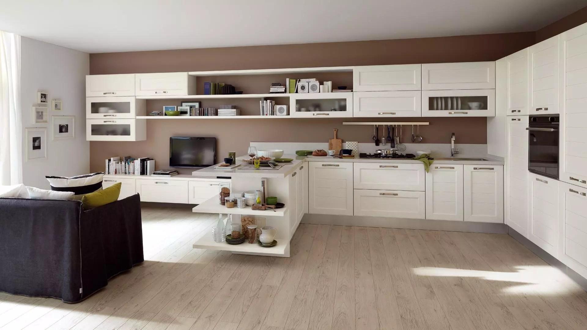 Cucina Classica Bianca Lube | Asolo - Diotti A&f Italian ...