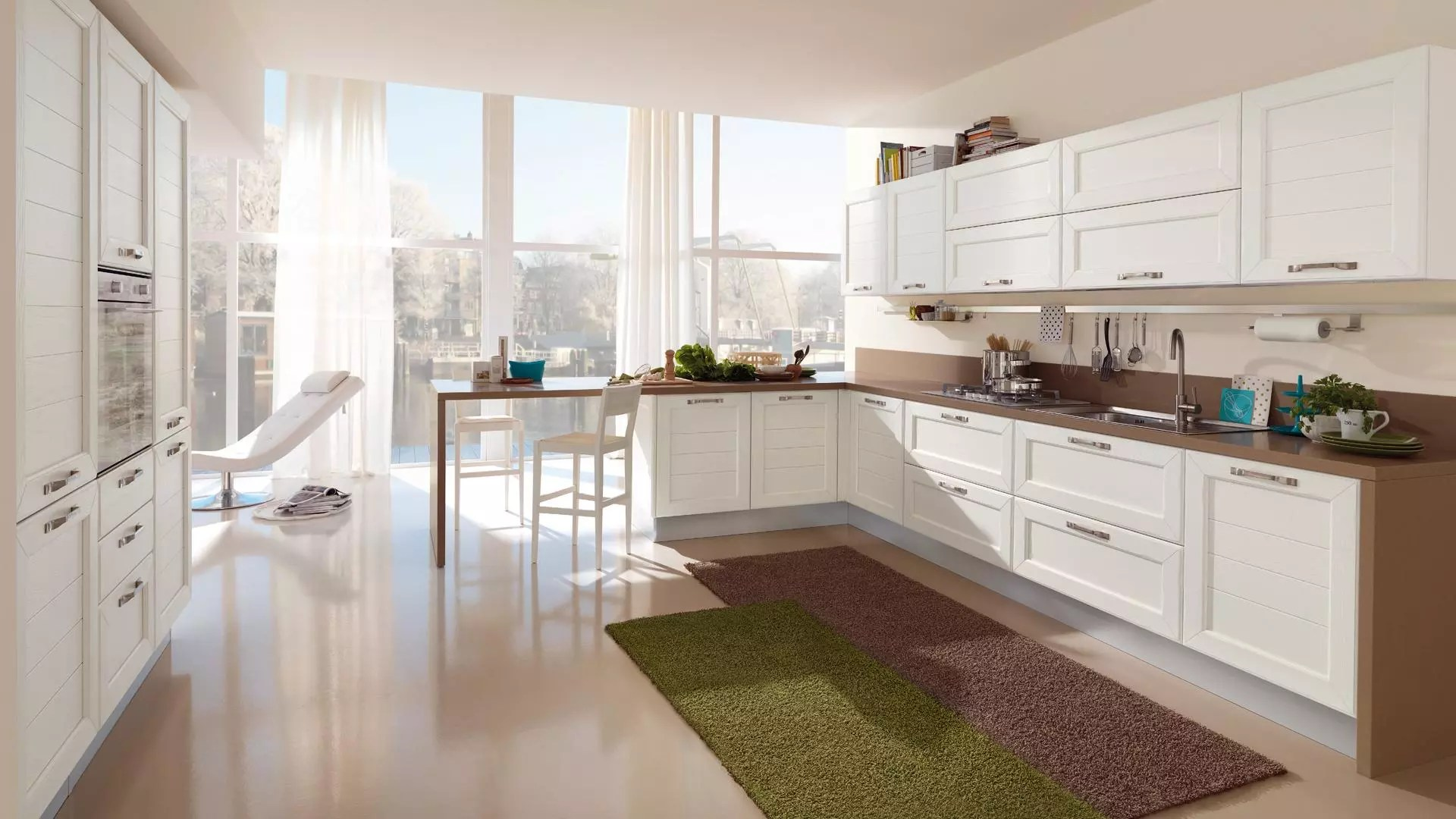 Cucine Lube ad angolo i suggerimenti per arredare  Lube