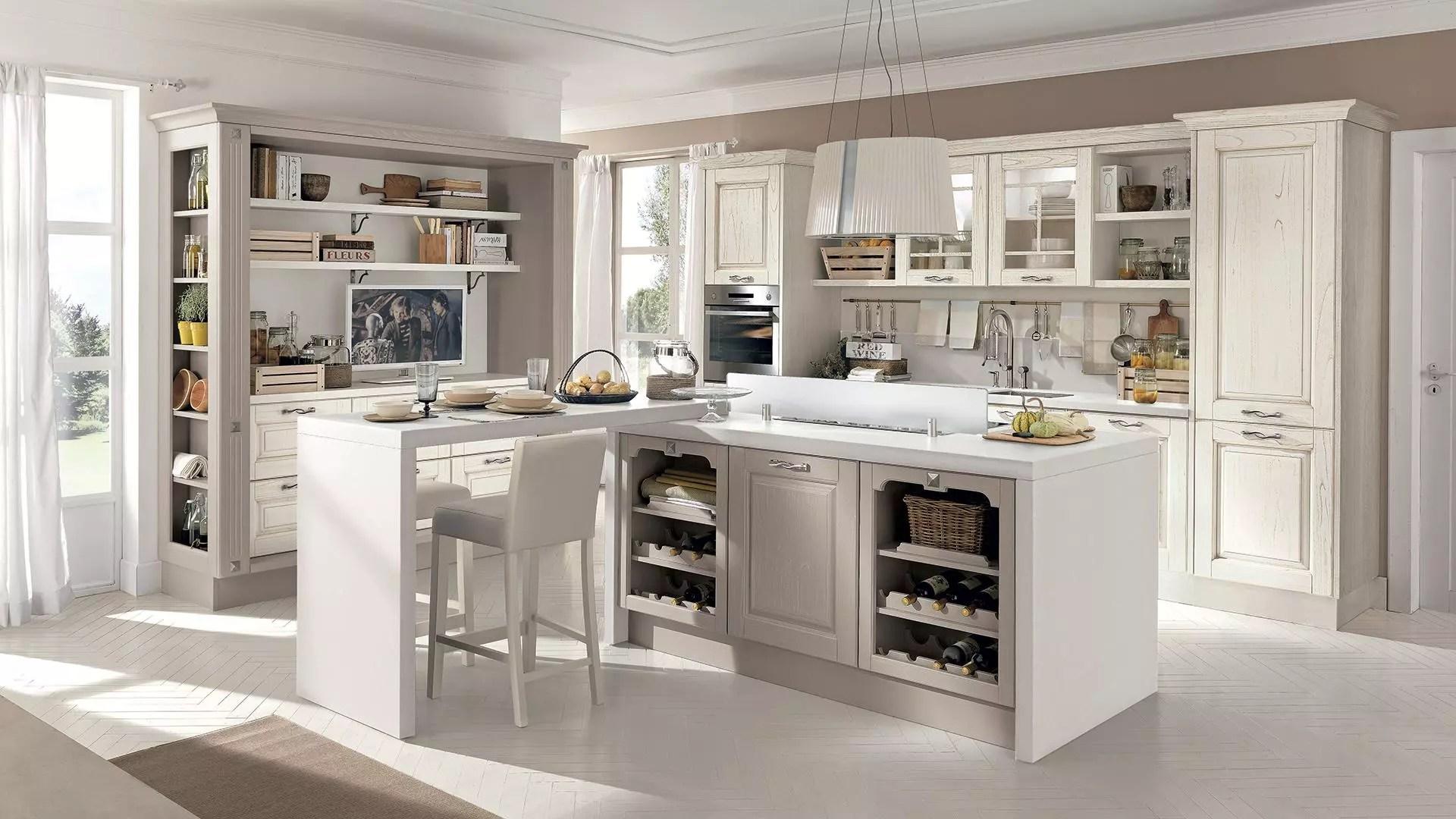 Cucina con isola le soluzioni da non perdere di Lube