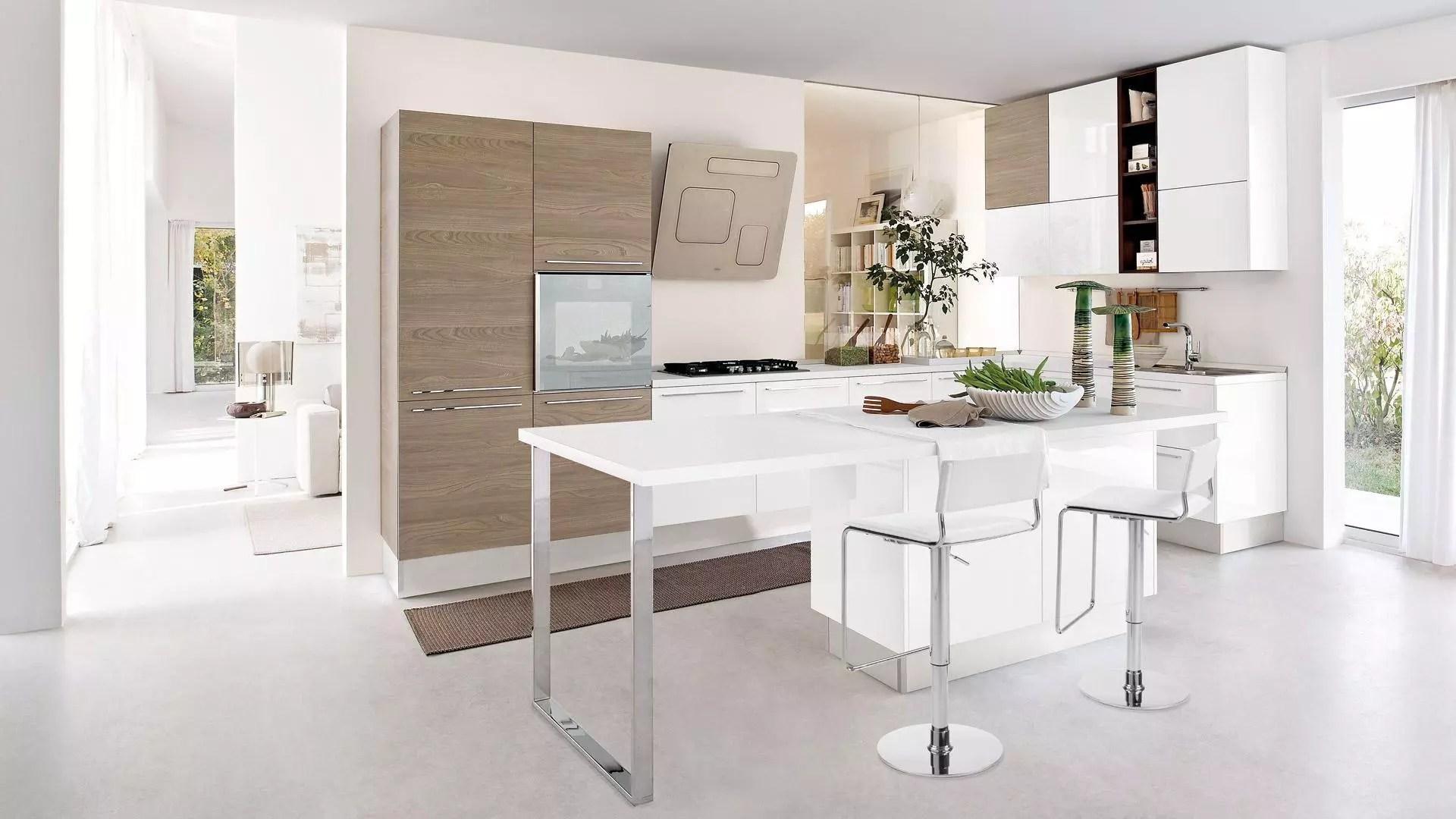 Cucina piccola 5 consigli per farla sembrare pi grande e spaziosa  Lube Store Milano  Le