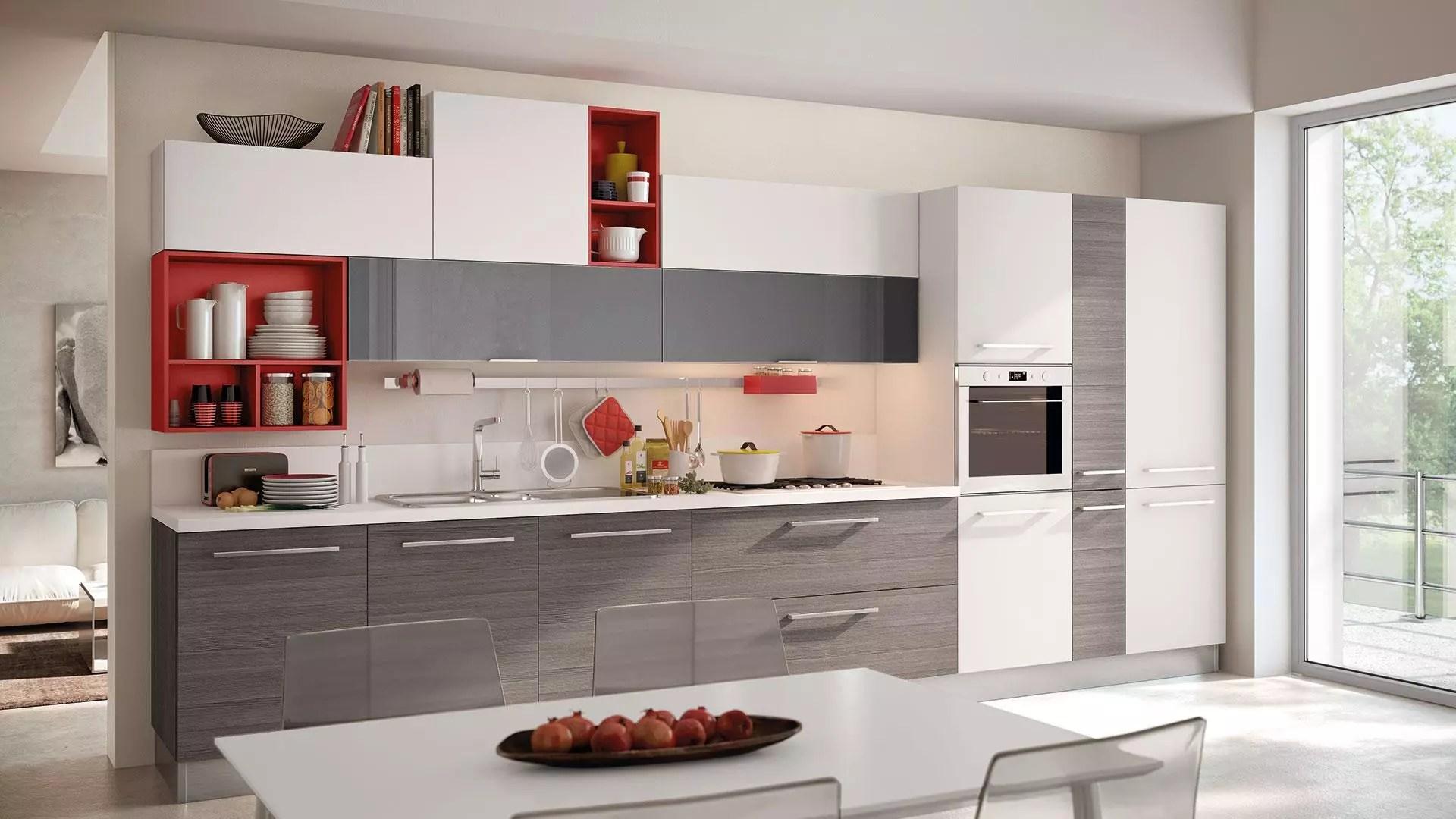 Disposizione Mobili Cucina | Design Della Cucina Di Una Piccola ...