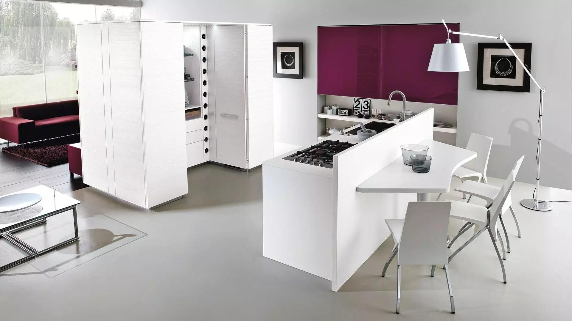 Cucine isola moderne cucina isola design dispirazione for Lube store milano