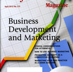 New Jersey Lawyer April 2012 Cover