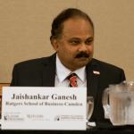 Dr. Jaishankar Ganesh, Dean of the Business School at Rutgers-Camden